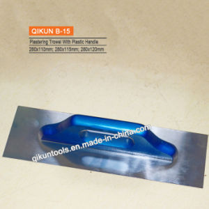 B-01 Plastic Handle Plastering Trowel pictures & photos