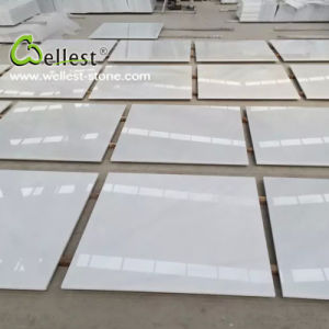 China Pure White Marble Floor and Wall Tile pictures & photos