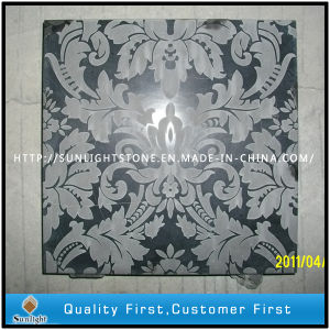 Shanxi Black Granite Shadow Engraving / Shadow Carving pictures & photos