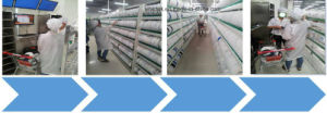 Electronic Shelf Intelligent Warehousing Equipment for Electronic Material Material Storage pictures & photos