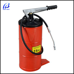 Haobao Portable Grease Gun with 15m in Flexible Hose pictures & photos