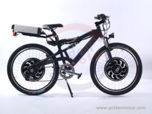Dual Driver Sport E Bike / Electric Mountain Bicycle with Magic Pie 4 / Magic Pie 5 Motor New Sine Wave Controller Built in. pictures & photos