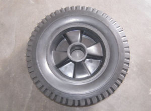 6 Inch Semi Pneumatic Rubber Wheel pictures & photos