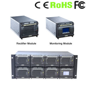 Telecom Rectifier System with LCD Display