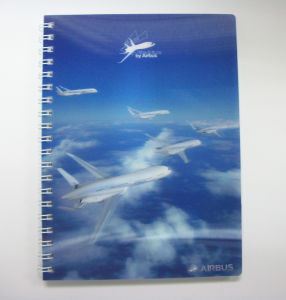 Custom Good Quality 3D Advertising Notebook pictures & photos