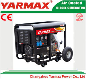 Yarmax Low Noise Air Cooled Diesel Engine Open Frame Diesel Generator Set Genset Ym9500eb-I pictures & photos