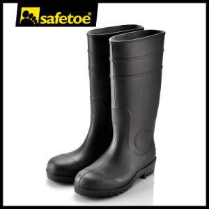 PVC Mining Boots (W-6037) pictures & photos