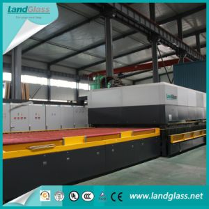 Landglass Continuous Force Convection Tempered Glass Making Furnace pictures & photos