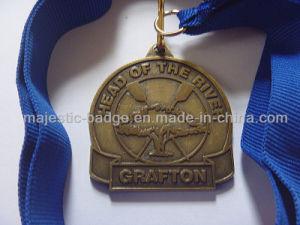 Zinc Die Cast Antique Bronze Plating Medallion pictures & photos