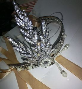 2014 New Fashion Cheap The Great Gatsby Vintage Gorgeous Fancy Hair Jewelry Hairband (HC-1104)