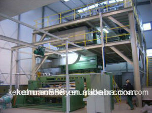 2.4m Ss Beam Production Line for PP Spun Bond Nonwoven Fabric Making Machine pictures & photos