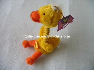 Rope Toy Plush Duck Squeaker Rope Pet Toy pictures & photos