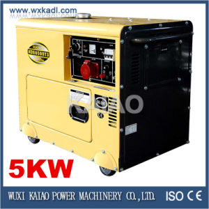 Silent Diesel Generator Set 3-Phase Factory Price KDE6500T3 pictures & photos