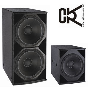 Dual 18 Inch Sub-Bass Speaker pictures & photos