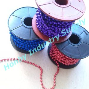 Top Quality 6mm Colored Steel Ball Chain by The Roll