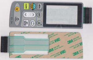 Customize Silk-Screen Printed 3m Adhesive N Infusion Pump Medical Membrane Switch pictures & photos
