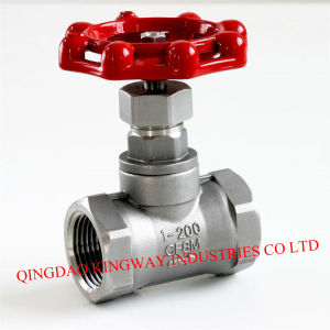 Stainless Steel Globe Valve, Threaded pictures & photos