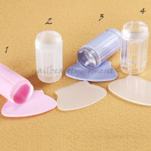 Silicone Nail Art Jelly Stamper Manicure Tool Kit (SNA19) pictures & photos