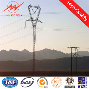 Power Transmission Steel Tower Single Column pictures & photos