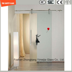 Anti-Fingerprint Acid Etched Shower Glass pictures & photos