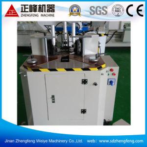 Hydraulics Single Head Aluminum Corner Combining Machine Lzj03 pictures & photos