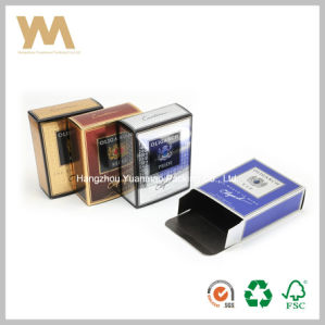 Newest Shiny Paper Perfume Box Design for Men pictures & photos