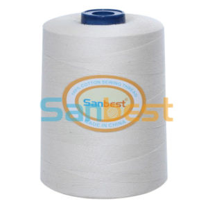 100% Mercerized & Gassed Cotton Sewing Thread pictures & photos