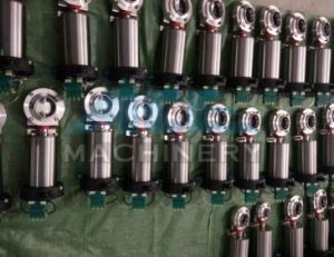 Stainless Steel Ss316L Sanitary Pneumatic Butterfly Valve (ACE-DF-7J) pictures & photos