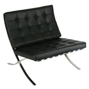 Modern Leisure Leather Lounge Barcelona Pavilion Chair pictures & photos