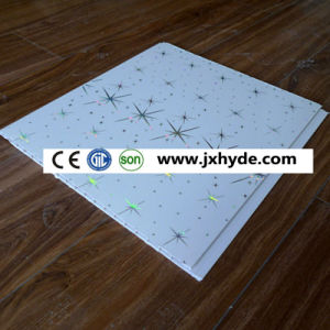 Pattern Hot Stamp PVC Panel PVC Ceiling PVC Wall Panel (RN-174) pictures & photos