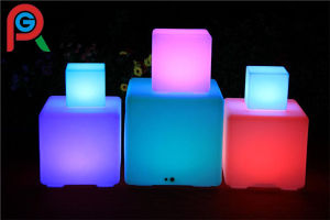 40cm 3D LED Cube Chair LED Cube For For Home, Party, Event With Remote  Controller