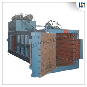 Semi-Automatic Plastic Horizontal Baler Recycling Machine pictures & photos