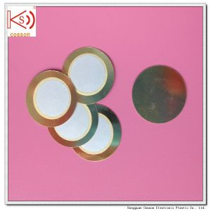 12mm 15mm 20mm 27mm Piezoelectronic 3pin Buzzer Plate pictures & photos