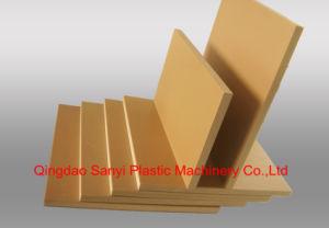 Wood Plastic Machine-Wood Plastic Foam Board Machine pictures & photos