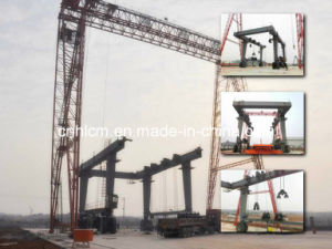 Yachtyard Rubber Wheel Gantry Crane pictures & photos