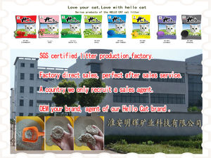 Hello Cat Cat Litter Series Products-Strawberry pictures & photos