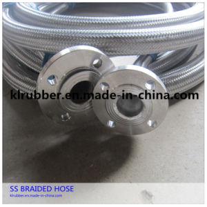 High Pressure Stainless Steel Braided Hose with Flanged pictures & photos