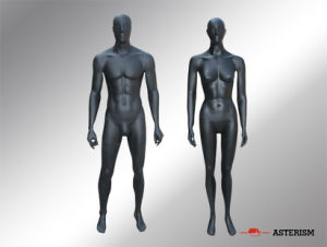 Black Color Male Mannequin