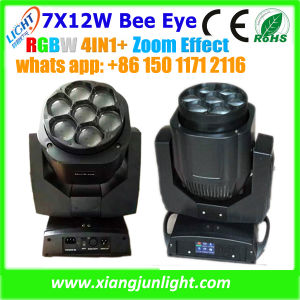 New 7X12W LED Moving Head Wash with Zoom Effect pictures & photos