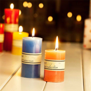 China 6 Inch Decoration Candle Pillar Candle pictures & photos