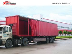 60ton Superlink Curtainside Trailer for Sale pictures & photos