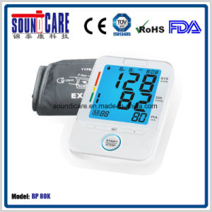 80 X 72mm Large LCD Digital Blood Pressure Monitor (BP80K) pictures & photos