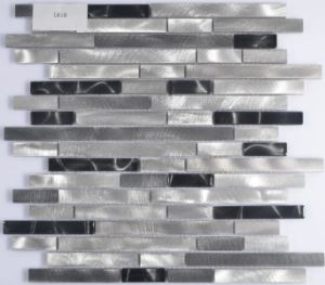 Irregular Aluminum Mosaic Tile for Deocration pictures & photos