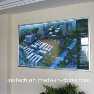 Media Advertising/Ad/Ads Indoor/Outdoor LED Film PVC Banner Sign Light Box Billboard pictures & photos