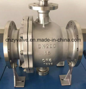 GB12237 Hard-Seal Stainless Steel CF8 Trunnion Ball Valve pictures & photos