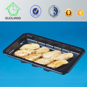 Supermarket Food Displays Disposable PP Meat Storage Containers with Absorbent Pads pictures & photos