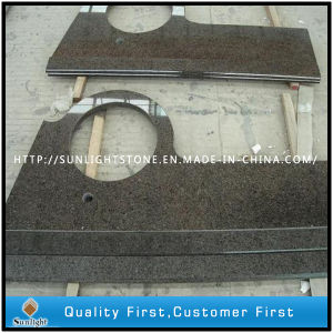 China Grey/Black/Dark Brown Granite Countertop/Vanity Top for Bathroom pictures & photos