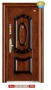 Steel Door Exterior Door Security Door Metal Door for Keeping Home safety (FD-501) pictures & photos