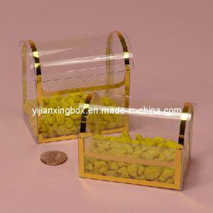 Plastic Transparent Treasure Hot Stamping Box