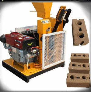 Hr1-25 Manual Cement Brick Making Machine Hydraulic Brick Plant pictures & photos